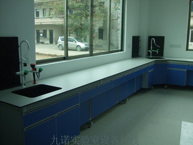 钢木实验室边台-钢木实验台-实验室设备|实验室家具